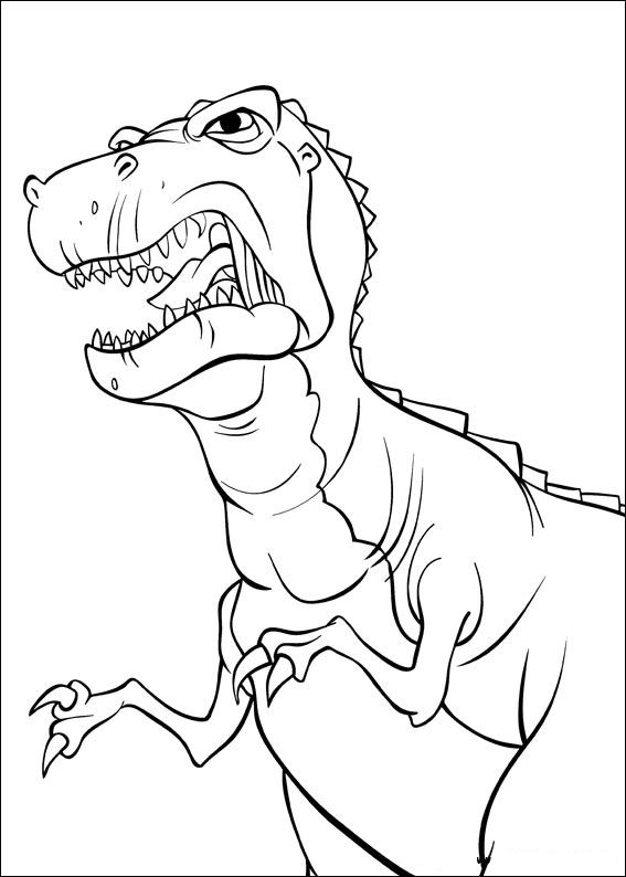 Kids-n-fun.com | 26 coloring pages of Land Before Time