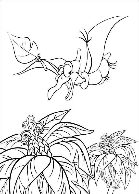 Kids n funcom 26 coloring pages of Land Before Time