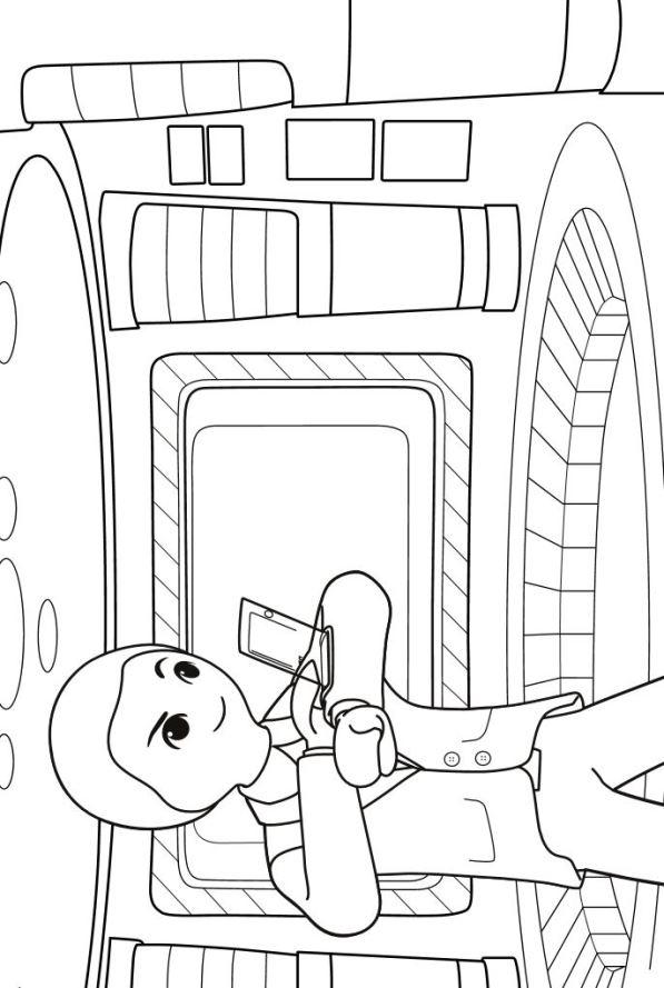 8 Playmobil Super 4 Coloring Pages