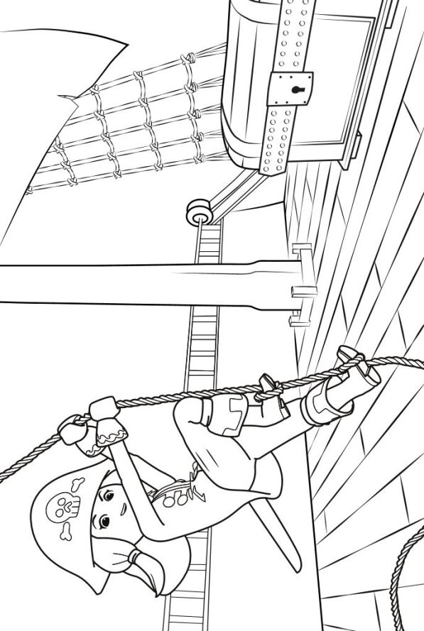 n 8 coloring pages of playmobil 4