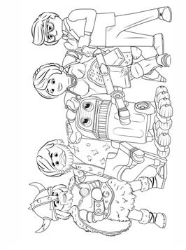 Kids N Fun Com 5 Coloring Pages Of Playmobil The Movie