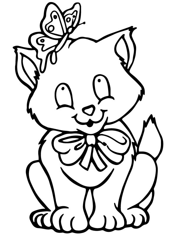 Kids-n-fun.com | Coloring page Cats and dogs Cats and dogs