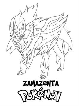 Kids N Fun Com 20 Coloring Pages Of Pokemon Sword And Shield