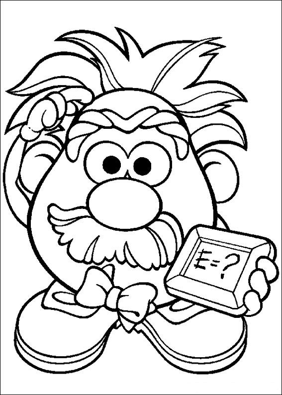 Kids n funcom 57 coloring pages of Mr Potato Head