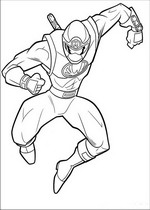 Power Ranger Coloring Pages on Power Rangers