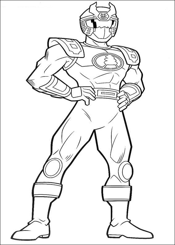 power rangers kid coloring pages - photo#37