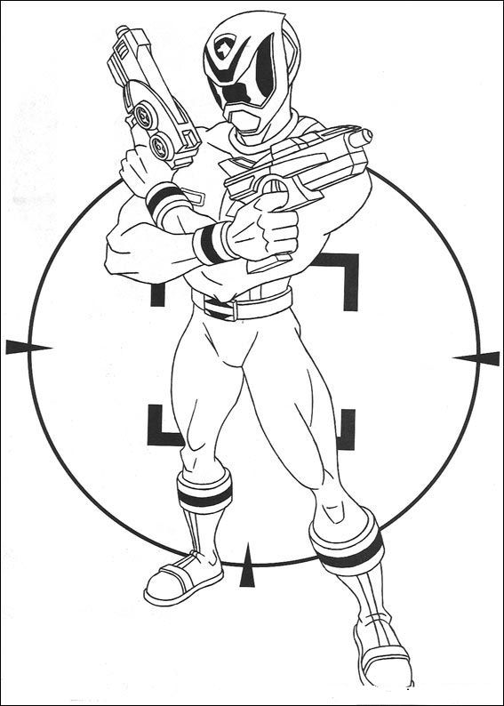 Kidsnfuncom 111 coloring pages of Power Rangers