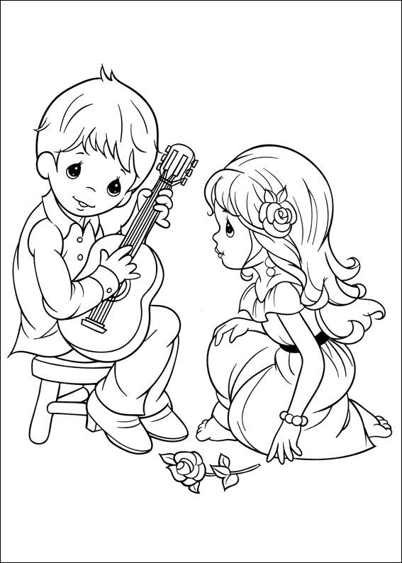 Kids N Fun Com 42 Coloring Pages Of Precious Moments Precious Moments Coloring Pages