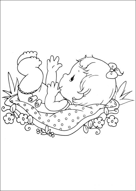 Kids N Fun Com 42 Coloring Pages Of Precious Moments