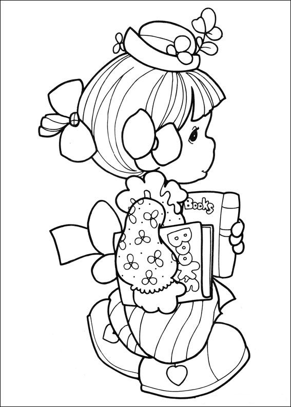 Kids-n-fun.co.uk   42 coloring pages of Precious moments