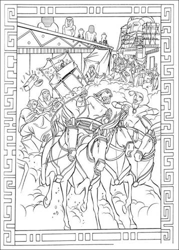 The Prince of Egypt coloring pages on Coloring-Book.info | 500x357