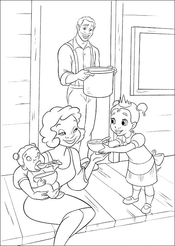kids n funcouk 37 coloring pages of princess and the frog