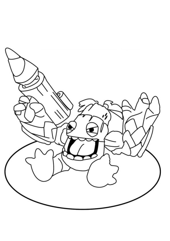 6 ratchet and clank coloring pages