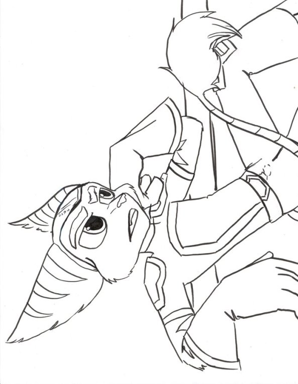 Kids-n-fun.com | 6 coloring pages of Ratchet and Clank