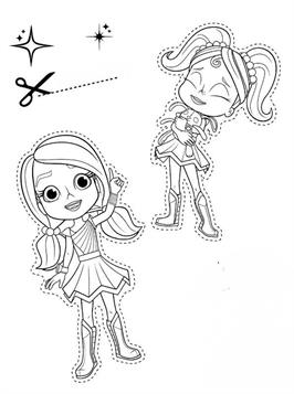 Kids N Fun Com 17 Coloring Pages Of Rainbow Rangers