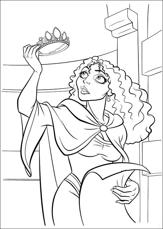 Kids N Fun Co Uk 20 Coloring Pages Of Tangled