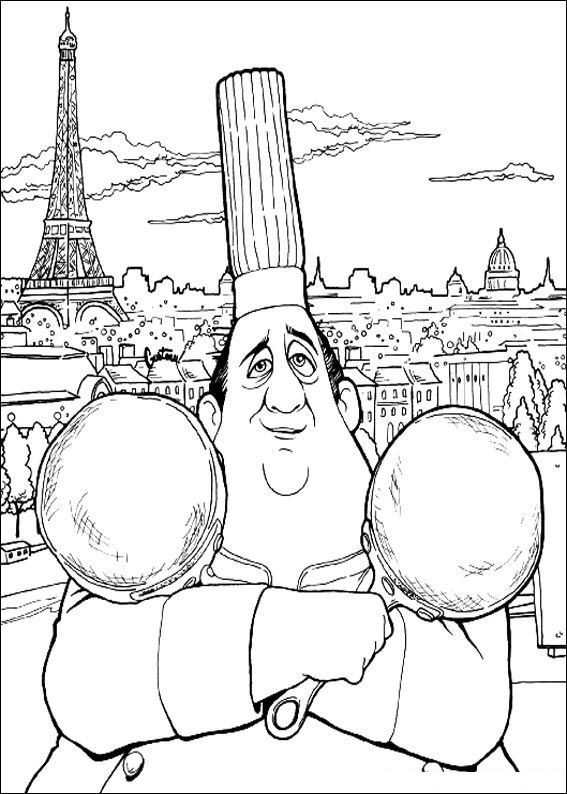 55 ratatouille coloring pages - Ratatouille Coloring Pages