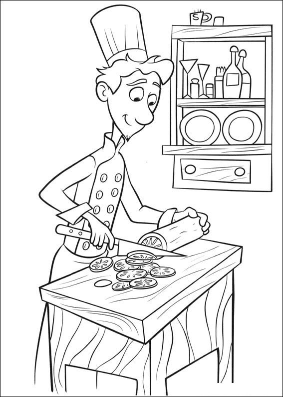 ratatouille - Ratatouille Coloring Pages