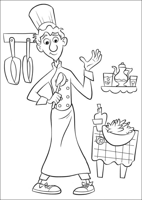 coloring pages ratatouille - photo#22