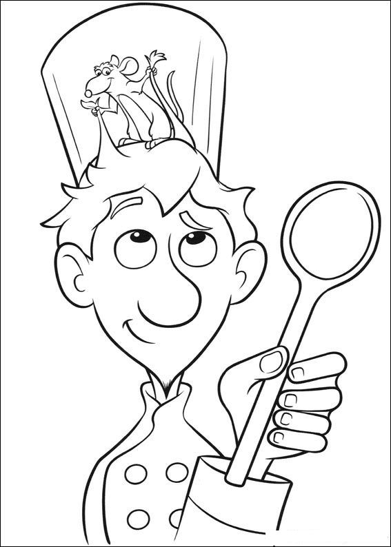 coloring pages ratatouille - photo#1