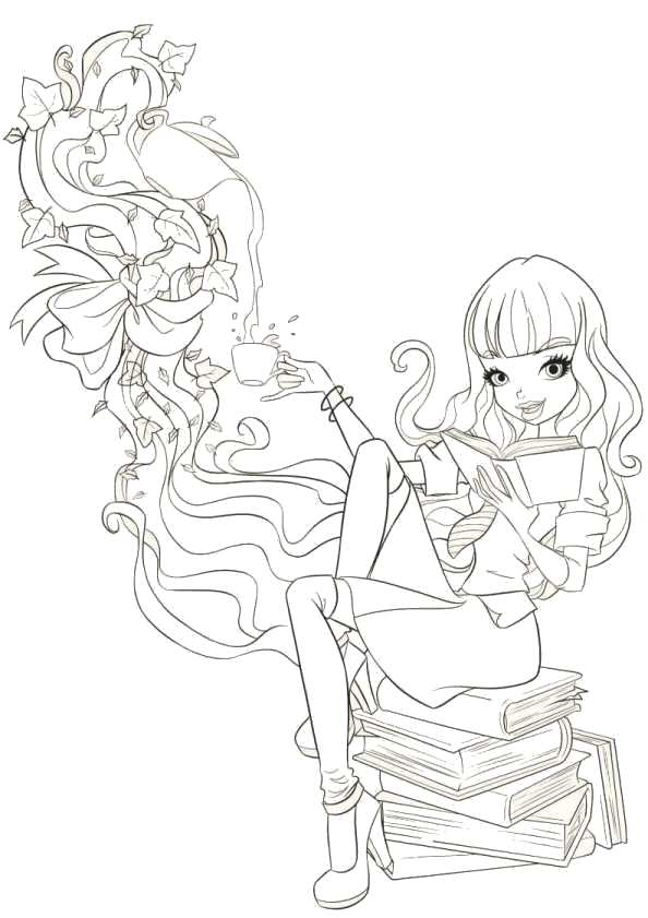 Kids n 16 coloring pages of regal academy for Disegni regal academy da colorare