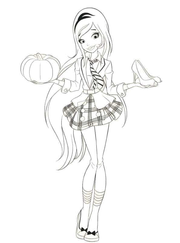 Kids-n-fun.com | 16 coloring pages of Regal Academy