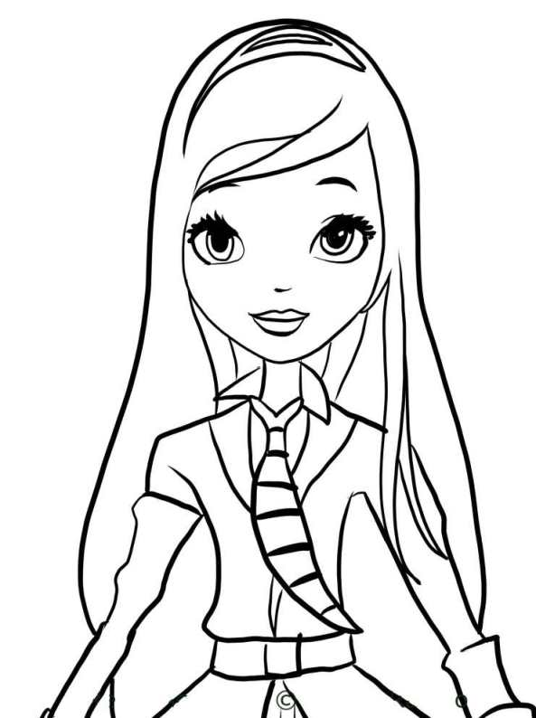 Kids n 16 coloring pages of regal academy for Disegni da colorare regal academy