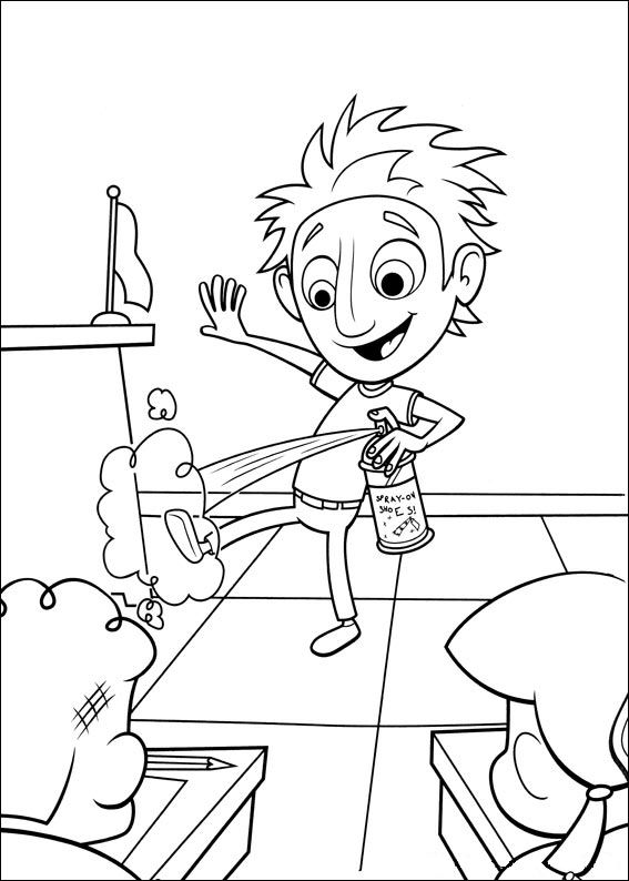 cloudy coloring pages - photo#22