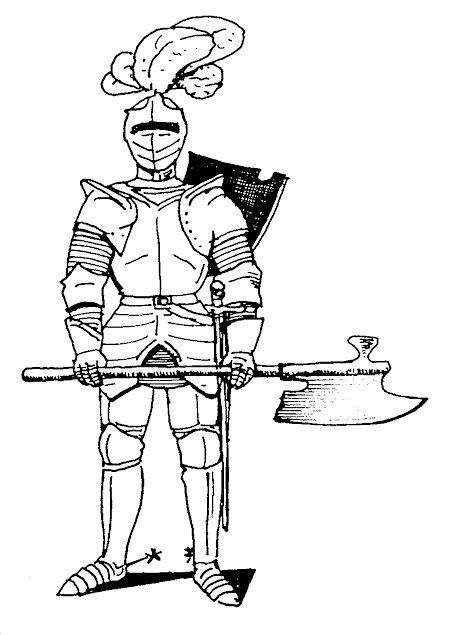 Kids-n-fun.com | 56 coloring pages of Knights
