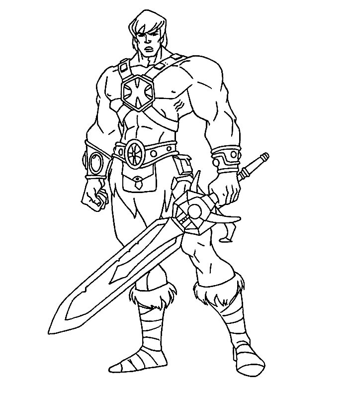 knight coloring pages for kids - photo#6
