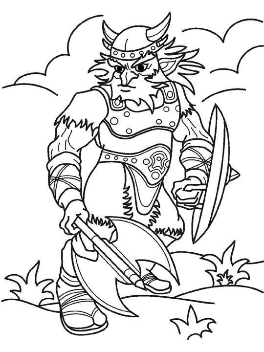 kids-n-fun.co.uk | 56 coloring pages of knights - Hobbit Dwarves Coloring Pages