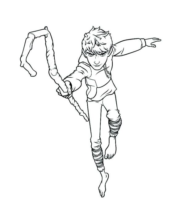 Kids-n-fun.com | Coloring page Rise of the Guardians Jack ...