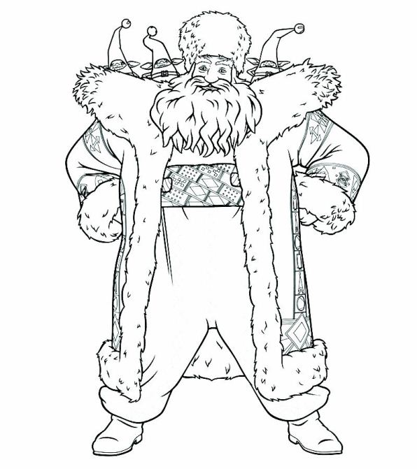 Kidsnfuncom  6 coloring pages of Rise of the Guardians