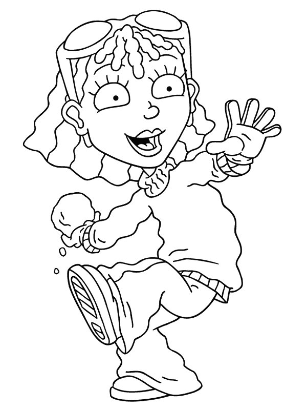 kids n fun com 74 coloring pages of rocket power