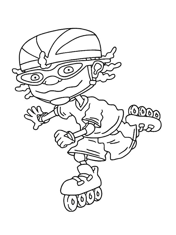 rocket power coloring pages - photo#4