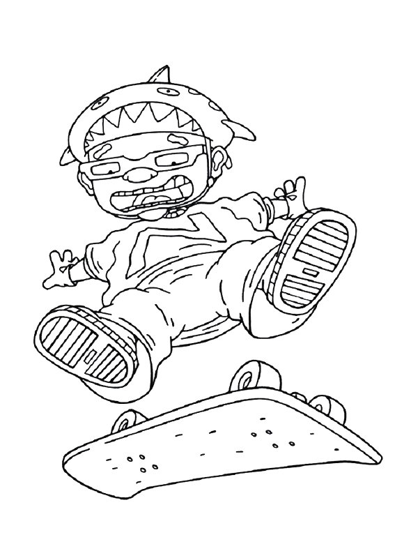 kids n fun co uk 74 coloring pages of rocket power