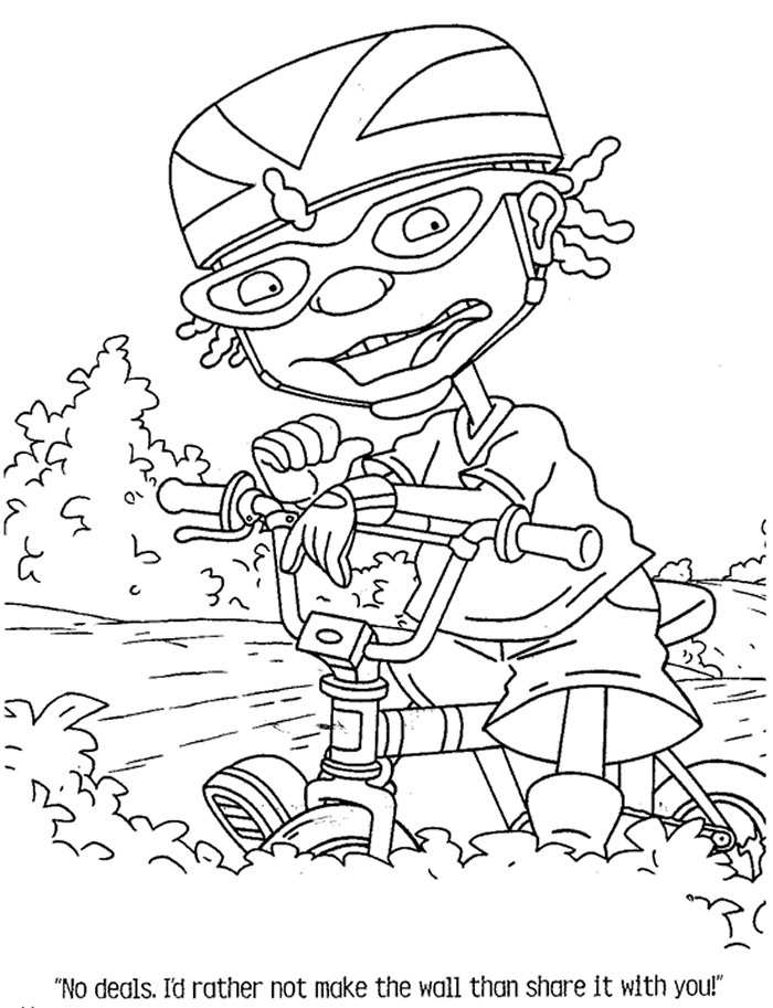 Famous Coloring Page Rocket Power Coloring Pages 22 Embellishment ...
