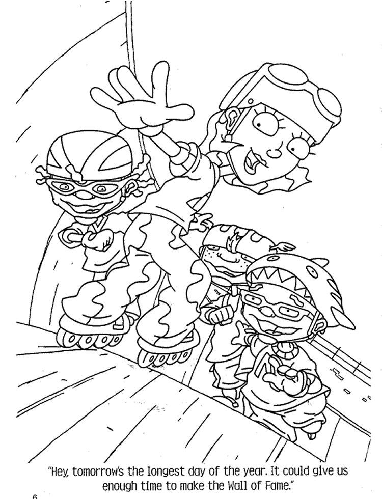 Kids-n-fun.co.uk   74 coloring pages of Rocket Power
