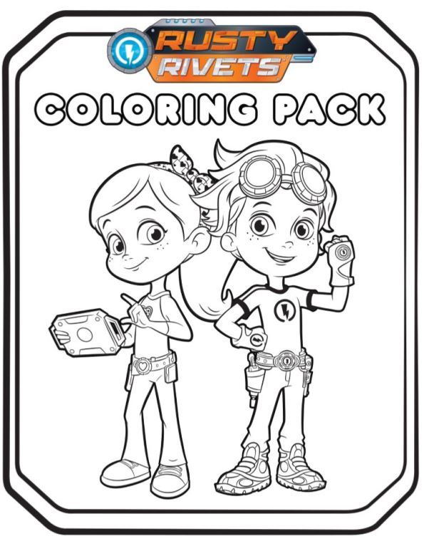 Kids-n-fun.com | 14 coloring pages of Rusty Rivets