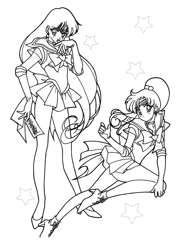 Kids n 66 coloring pages of sailor moon for Coloring pages sailor moon