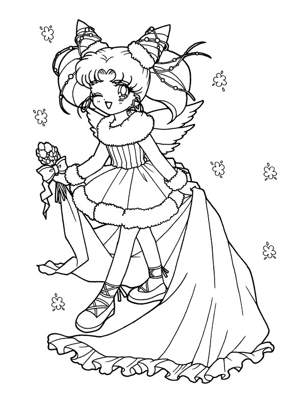 sailor moon - Sailor Moon Coloring Pages