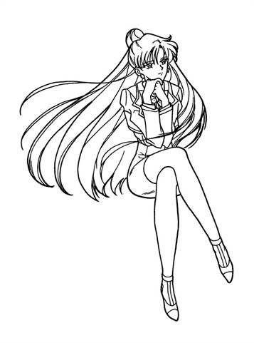 anime coloring pages sailor moon – ourwayofpassion.com | 481x357