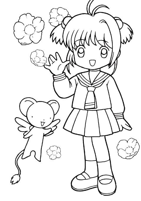 Coloring Pages Kids N Fun : Kids n fun coloring page sakura