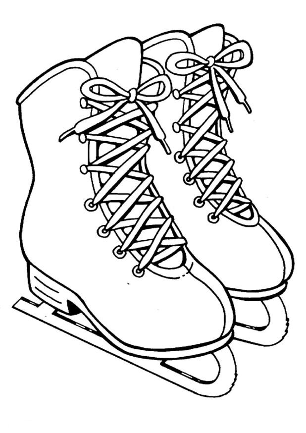 Kids n funcom 8 coloring pages of Ice skating