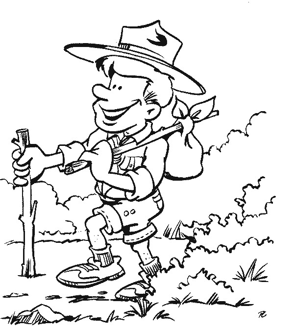 Kids N Fun Co Uk 19 Coloring Pages Of Scouting Scout Coloring Pages