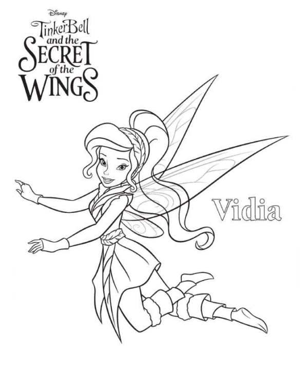 15 tinkerbell secret of the wings. Coloring pages