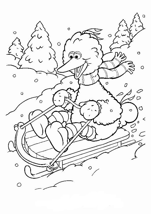 Kids N Fun Com 11 Coloring Pages Of Winter Sports