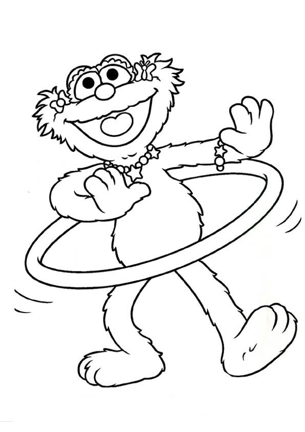 sesamstraat coloring pages - photo#34