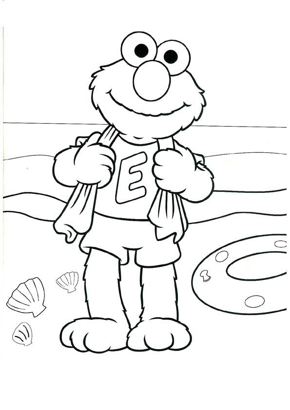 Kids-n-fun.com | 53 coloring pages of Sesamstreet