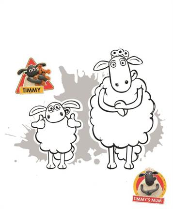 Kids N Fun Co Uk 15 Coloring Pages Of Shaun The Sheep